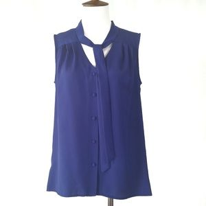 Mossimo Hi Low Sleeveless Blouse Size S